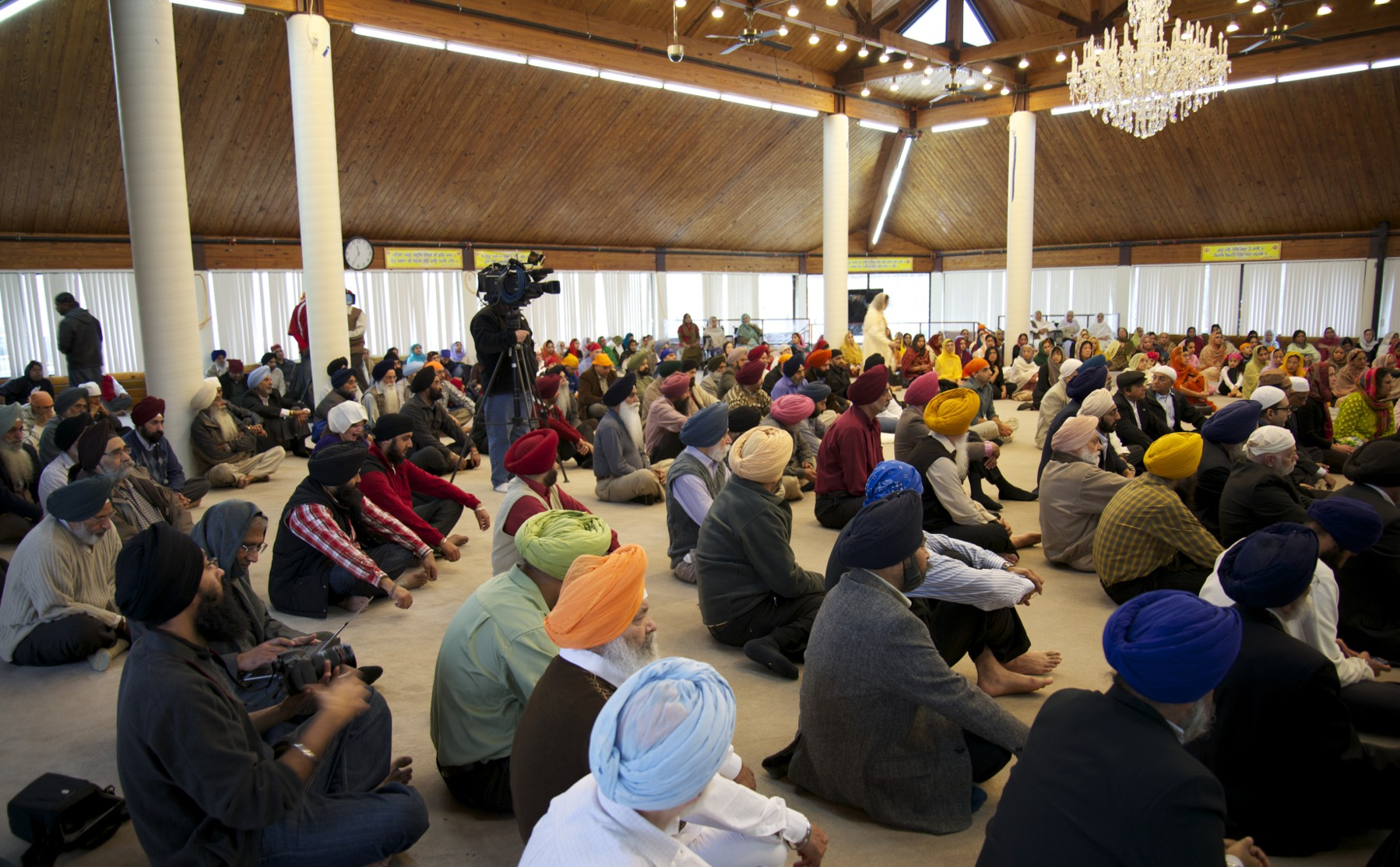 Commemoration of HR 1193 at Palatine Gurdwara