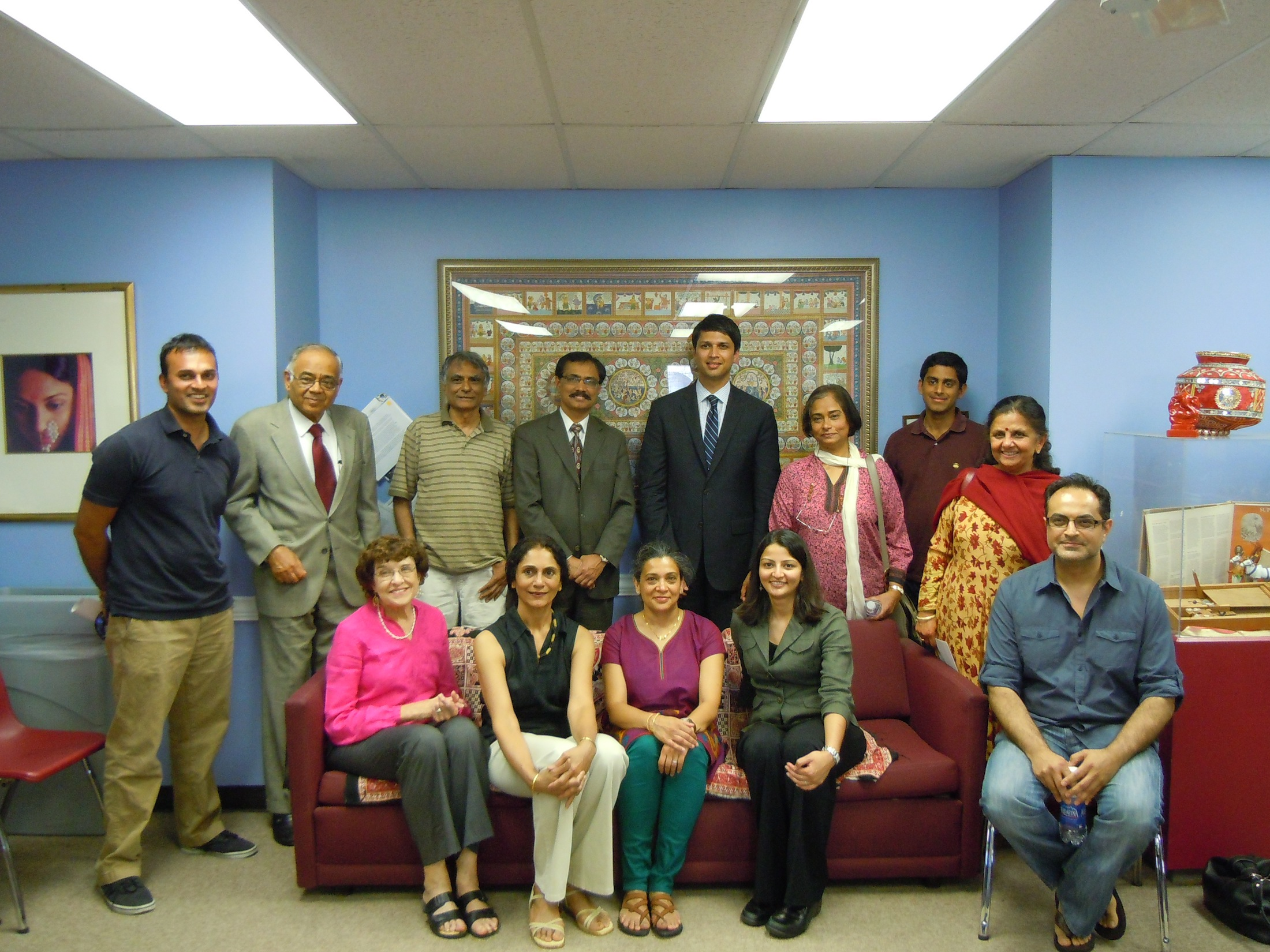 SAAPRI and the Indo-American Center Host a White House Initiative Round Table