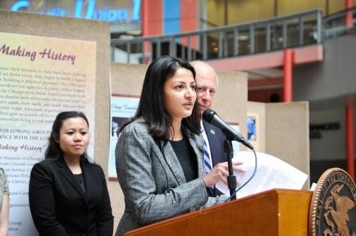 Governor Quinn Showcases 150 years of Illinois Asian American Heritage