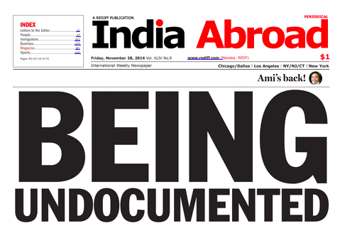 India Abroad Reports on Undocumented South Asians in IL & SAAPRI's Outreach