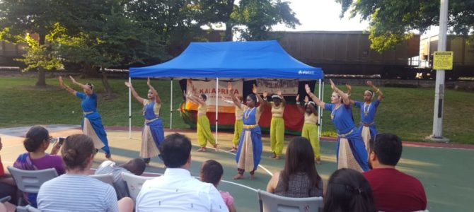 Ahimsa Breaks Barriers: SAAPRI and Kalapriya's Series on Community Violence Draws Diverse Audiences at Shedd Park in Little Village
